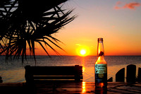 South Padre Island: Sunset & Beer Bottle