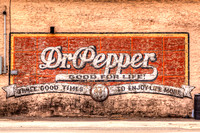 Hico-TX - Dr Pepper Wall Sign